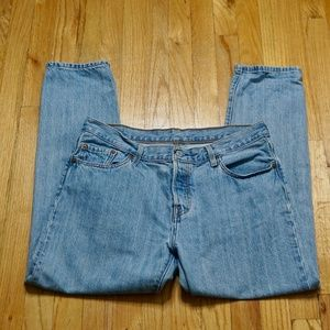 LEVI'S 501CT Blue Jean (Size 29W/32L)
